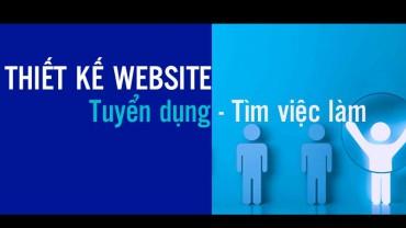 Thiết kế website tuyển dụng – tìm việc làm – tuyển dụng trực tuyến