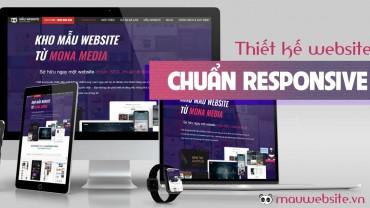 Thiết kế website responsive – chuẩn di dộng – đa nền tảng