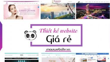 Thiết kế website giá rẻ – chất lượng tại Hà Nội
