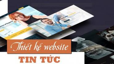 Thiết kế website tin tức – tạp chí online – báo điện tử