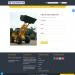 Mẫu website bán máy công nghiệp tương tự Hải âu