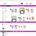 Mẫu website tương tự SweetParty – bán vật dụng cho sinh nhật, tiệc