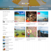 Mẫu website bán tour trực tuyến tương tự Exploore