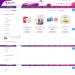 Mẫu website bán sản phẩm dưỡng da tương tự Strawberrynet