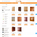 Mẫu website bán tủ nội thất – quầy kệ