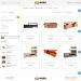 Mẫu website bán bàn ghế nội thất