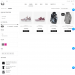 Mẫu website kinh doanh đồ thể thao – giày tương tự Bitis