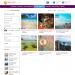 Mẫu website cung cấp chuyến du lịch tương tự Tugo