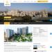 Mẫu website về bất động sản tương tự Investmentland