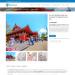 Mẫu website dịch vụ du lịch tương tự Trendy Travel