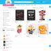 Mẫu website bán vật dụng trang trí tiệc Mona Party