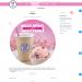 Mẫu website tương tự Baskin Robbin – cửa hàng bánh – kem và kẹo