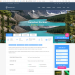 Mẫu website du lịch khám phá tương tự Adventure tours