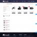 Mẫu website bán các phụ kiện xe hơi – xe ô tô