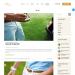 Mẫu website giới thiệu sân golf tương tự triompher
