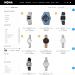 Mẫu website đồng hồ đeo tay sang trọng