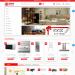 Mẫu website bán sản phẩm nội thất nhà bếp
