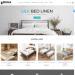 Mẫu website bán giường – nội thất phòng ngủ