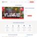 Mẫu website trung tâm tư vấn du học tương tự Newocean