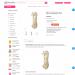 Mẫu website siêu thị Mẹ và bé tương tự Hato